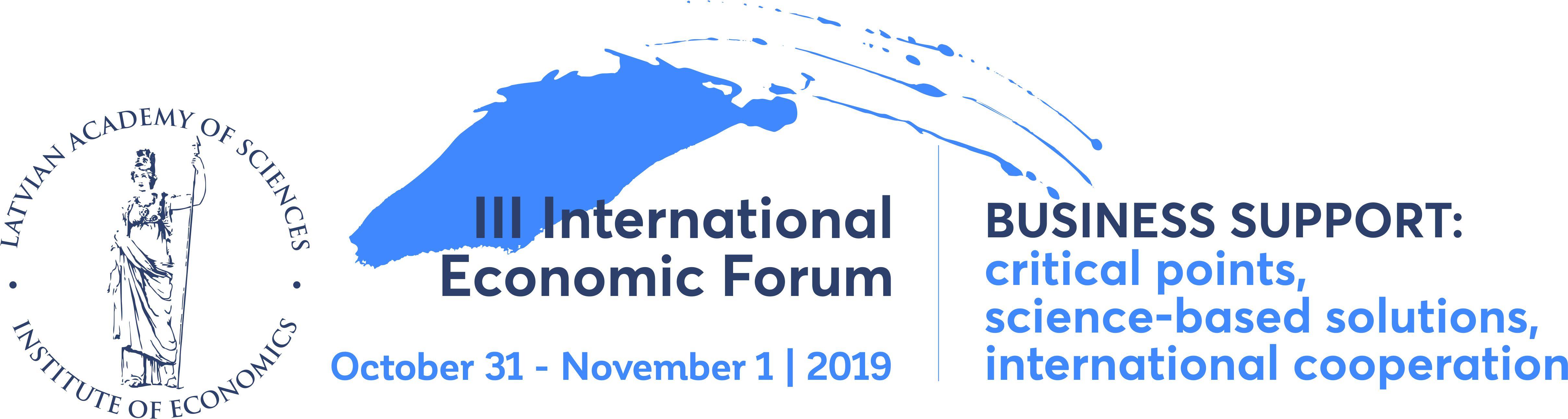 III International Latvian Economic Forum